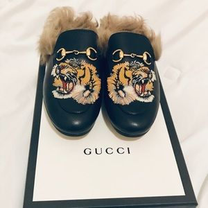 Gucci Princetown with Tiger